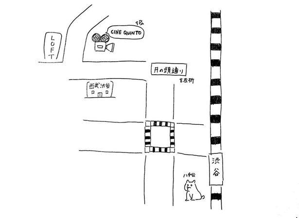 こちらは南さん直筆の地図