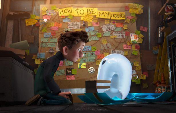 ポンコツBボットのロンがかわいい『ロン 僕のポンコツ・ボット』