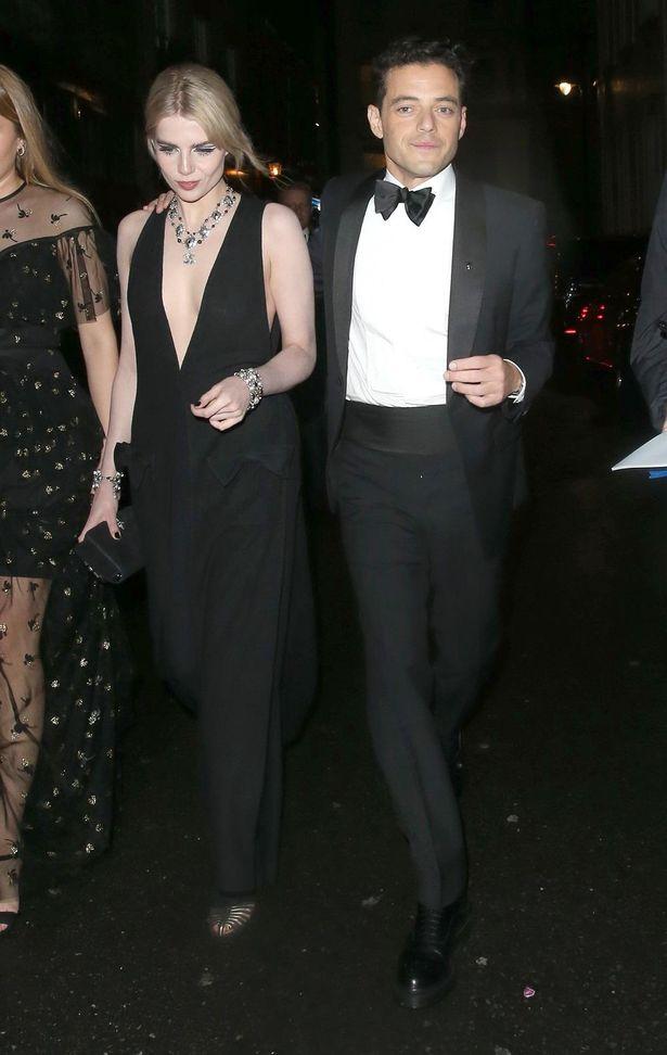 【写真を見る】ラミ・マレック、恋人のルーシー・ボイントンと黒コーデを披露!「007」プレミアのアフターパーティへ