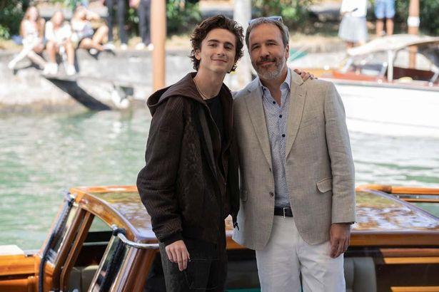 ヴィルヌーヴ監督とシャラメは互いにいつか一緒に仕事がしたいという念願が叶った模様