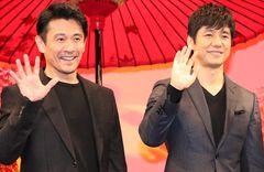 「ケンジの扮装になると、西島さんがシロさんに見えちゃう」