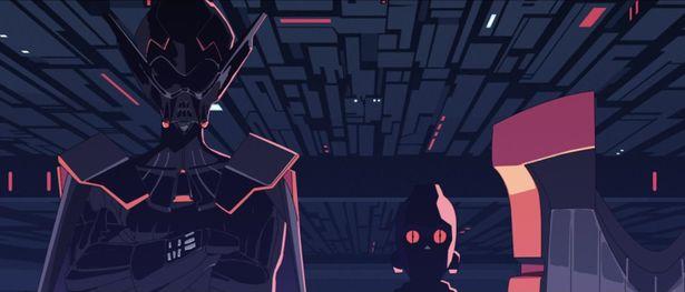 「THE TWINS」は、ダークサイドの力によって生みだされた双子の暗黒卿の物語