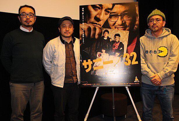 映画『サニー/32』のトークイベントに白石監督、宇野と共に登壇した高橋泉