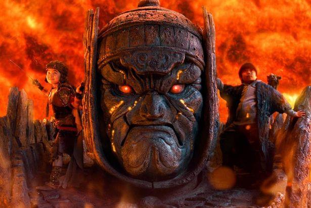 『妖怪大戦争 ガーディアンズ』では、特撮界の伝説である、大魔神の復活も話題に!