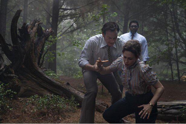 ウォーレン夫妻を演じるパトリック・ウィルソンとヴェラ・ファーミガ