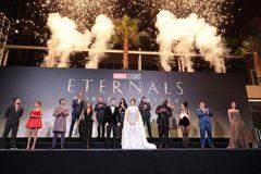 『エターナルズ』のワールドプレミアにキャスト&スタッフ陣が一挙集結!