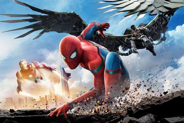 興収では1位となった『スパイダーマン:ホームカミング』