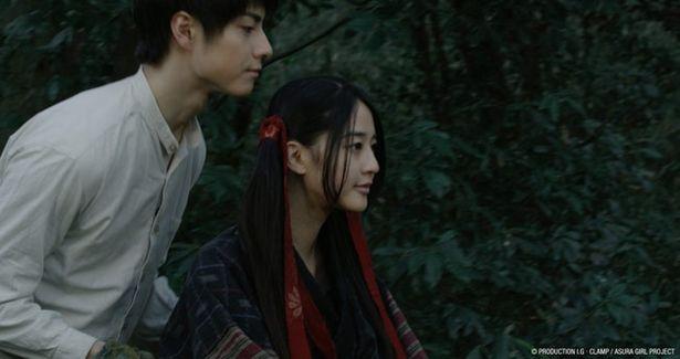 運命に翻弄される少女・蘭を演じる青野楓