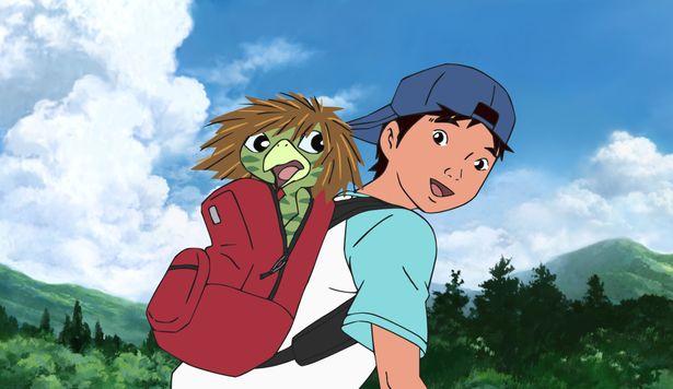 『河童のクゥと夏休み』 は原作の児童文学に触れた監督が、長年アニメ化を熱望し実現させた意欲作