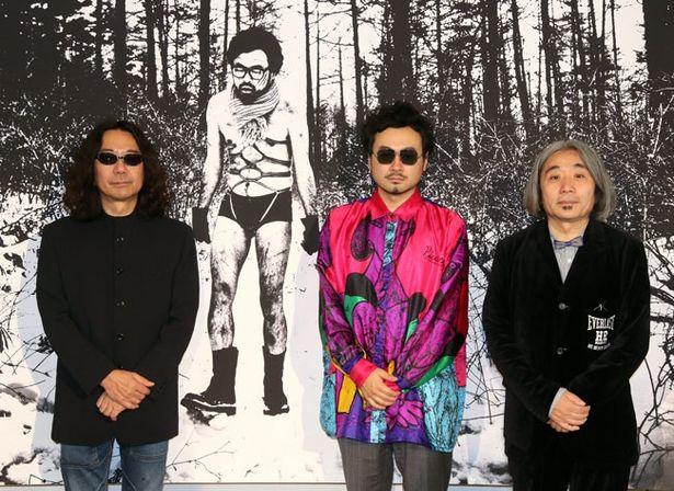 公開収録後に作品への思いを語ってくれた、みうらじゅん、前野健太、安齋肇