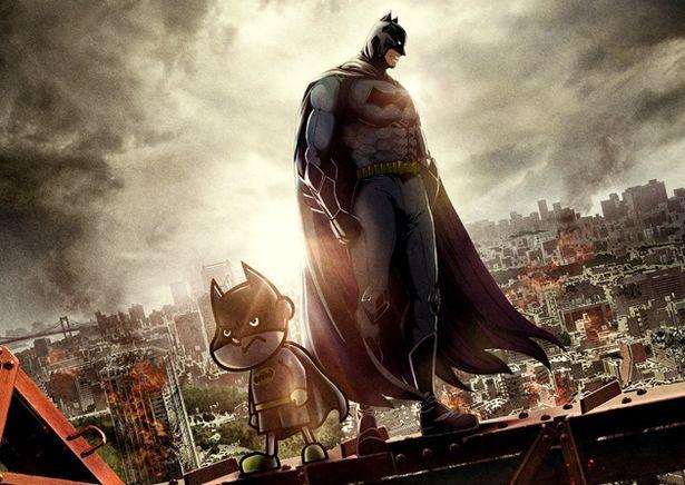 バト田(声:FROGMAN)&バットマン(声:山田孝之)のコンビは、映画でも活躍!?