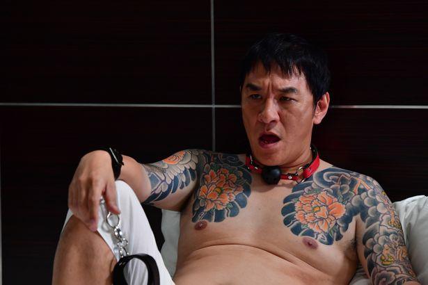 『アウトレイジ 最終章』で花菱会の直参幹部の花田を演じているピエール瀧