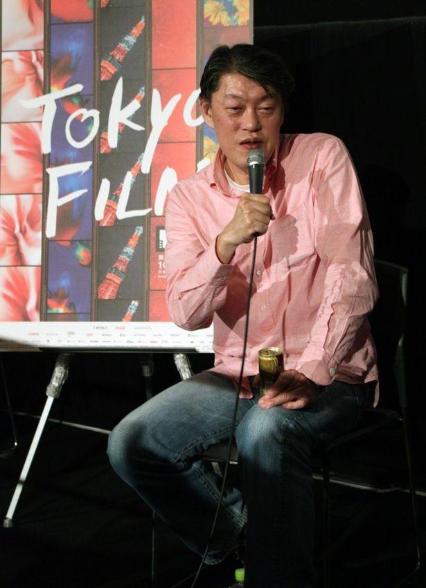 原監督は、黒澤明監督の『七人の侍』や司馬遼太郎の歴史小説の話題を交えて『戦国大合戦』を解説