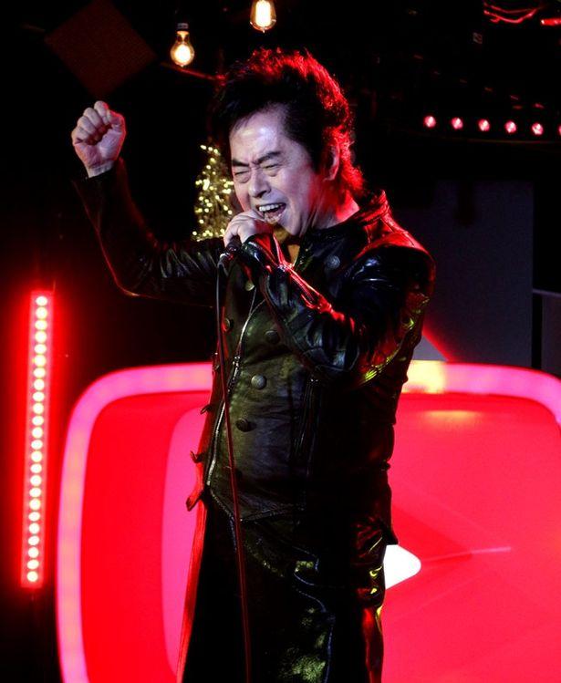 イベントの最初から水木一郎が「マジンガーZ」を熱唱し、場内から歓喜の声が上がる