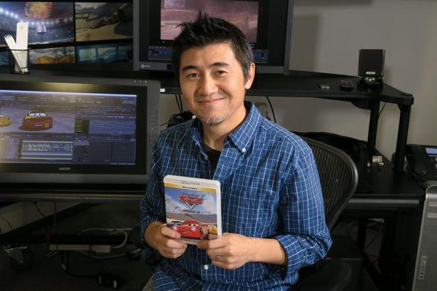 アニメーターとして『カーズ/クロスロード』に参加した原島朋幸