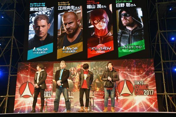 4人の声優が吹き替えを担当したキャラクターはご覧の通り