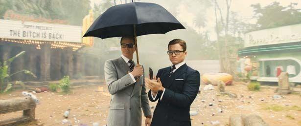 英国紳士と米国カウボーイの活躍が楽しい『キングスマン』
