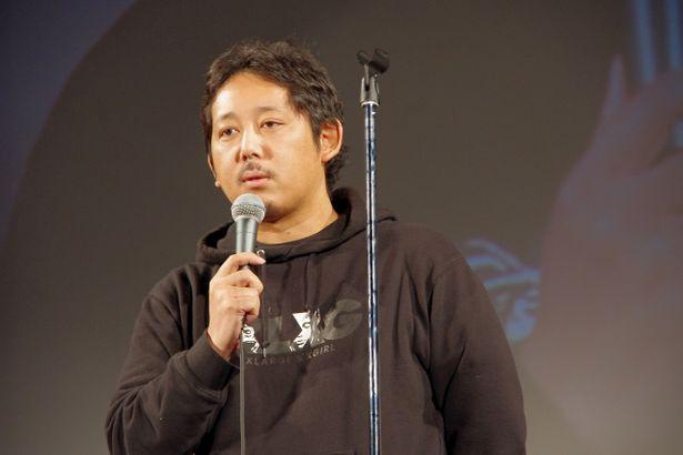 感動的なスピーチで後進を激励した入江悠監督