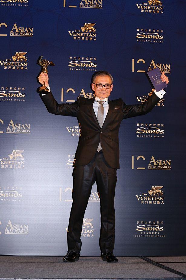 『空海-KU-KAI-』で最優秀視覚効果賞を受賞した石井教雄