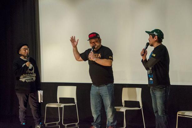 1月に行われた「コアチョコ映画祭」ではゲスト陣によるトークショーも