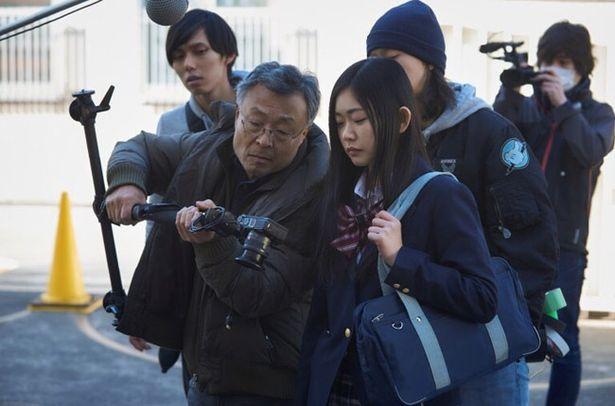 ヒロインの目線での撮影には一眼レフのカメラを使用