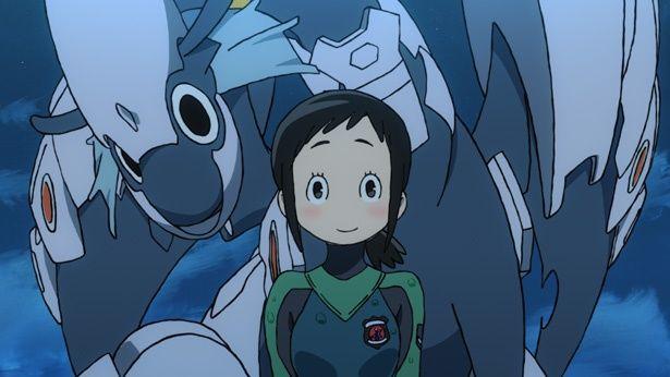 航空自衛隊とドラゴンを組み合わせたオリジナルアニメ「ひそねとまそたん」