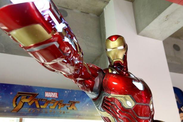 【写真を見る】アイアンマンらの超精巧なフィギュア写真大放出!