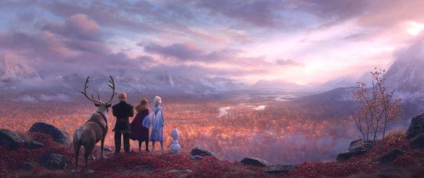 【写真を見る】映像がすごくきれいな『アナと雪の女王2』