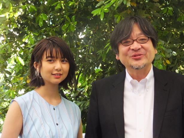 『未来のミライ』で初のカンヌ入りを果たした細田守監督と上白石萌歌に現地で直撃