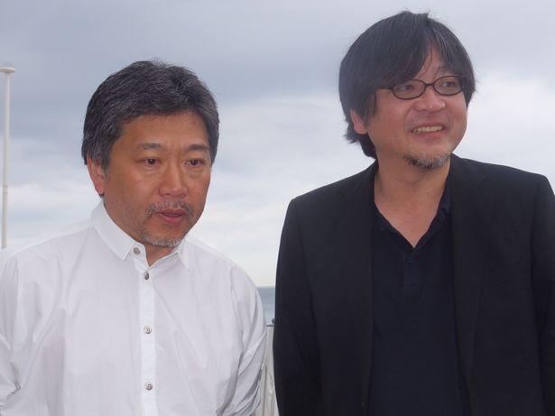 細田守監督と是枝裕和監督が揃い踏み!
