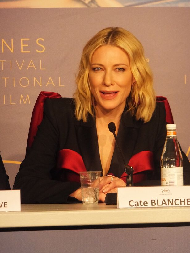 第71回カンヌ国際映画祭の審査員長を務めたケイト・ブランシェット