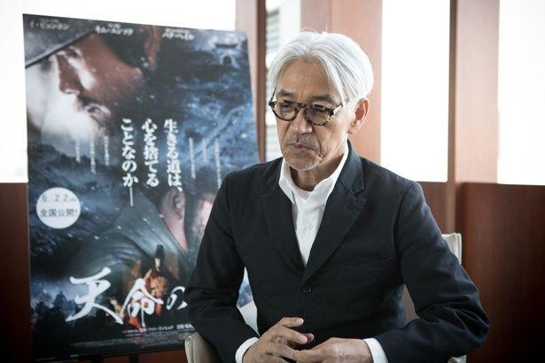 『天命の城』で韓国映画に初参加を果たした坂本龍一