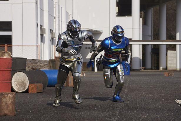 コンバットスーツを蒸着・焼結したギャバン&シャイダーの勇姿は、21世紀でも通じるカッコよさ!