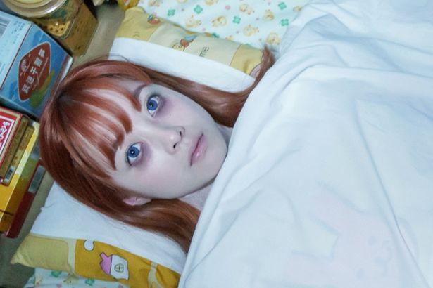 眠れない神楽(橋本)の顔がコワすぎ!「銀魂2 -世にも奇妙な銀魂ちゃん-」の「眠れないアル篇」