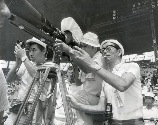 『第50回全国高校野球選手権大会 青春』撮影風景