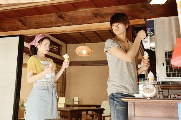 葵と佐野は『くちびるに歌を』以来の共演となった