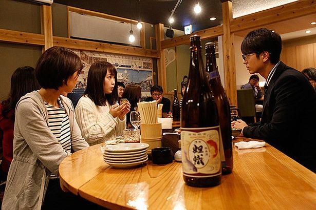 日本酒が人々の想いを繋いでいく