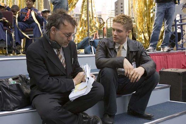 『スパイダーマン3』の監督を務めたサム・ライミとヴェノム役のトファー・グレイス