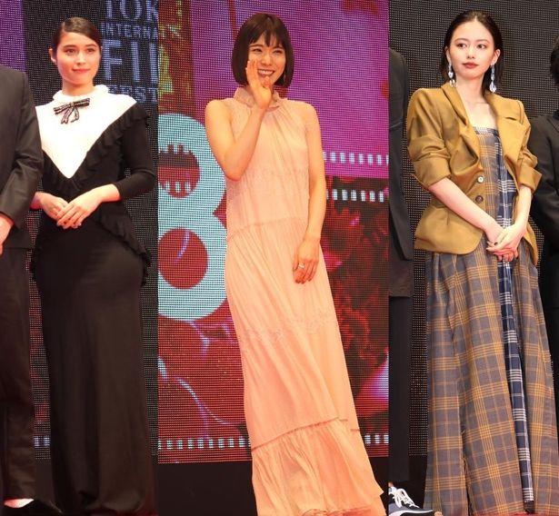 第31回東京国際映画祭、女優陣のファッションをチェック!