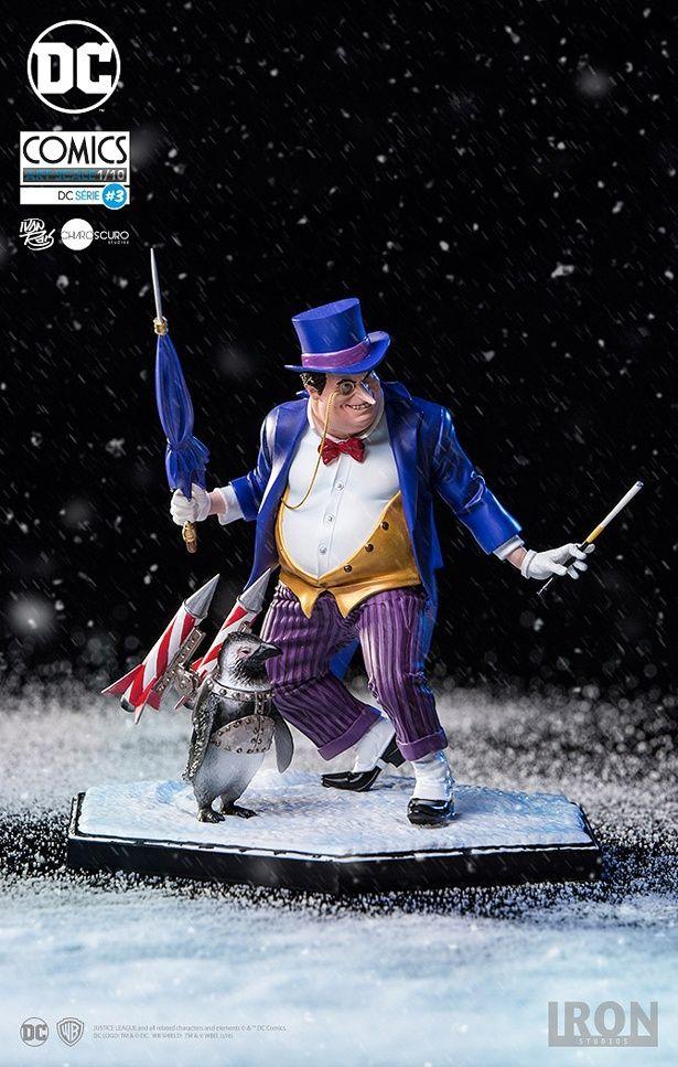 『バットマン リターンズ』にも登場した人気ヴィランのペンギン