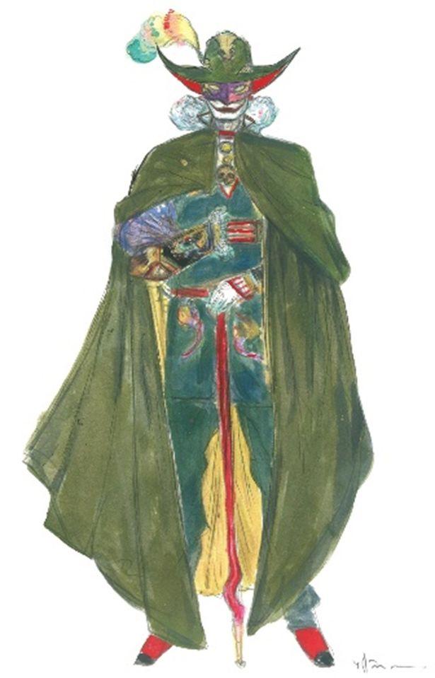 怪人二十面相のデザインを担当したのは「タイムボカン」シリーズなどで知られる天野喜孝