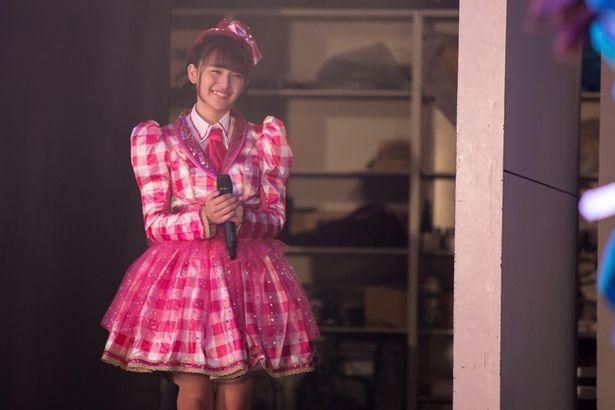 『BACK STREET GIRLS -ゴクドルズ-』では映画オリジナルのキャラクターである先輩アイドル・山城麗華に
