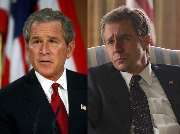 【写真を見る】あのオスカー俳優がブッシュ元大統領を完コピ!