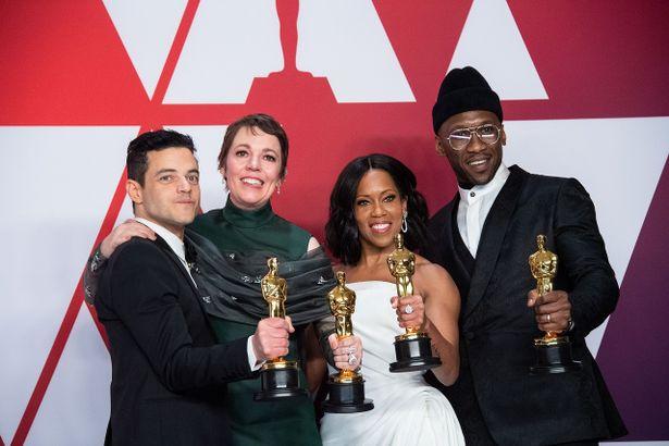 主演男優賞のラミ・マレック、主演女優賞のオリヴィア・コールマン、助演男優賞のマハーシャラ・アリ、助演女優賞のレジーナ・キング