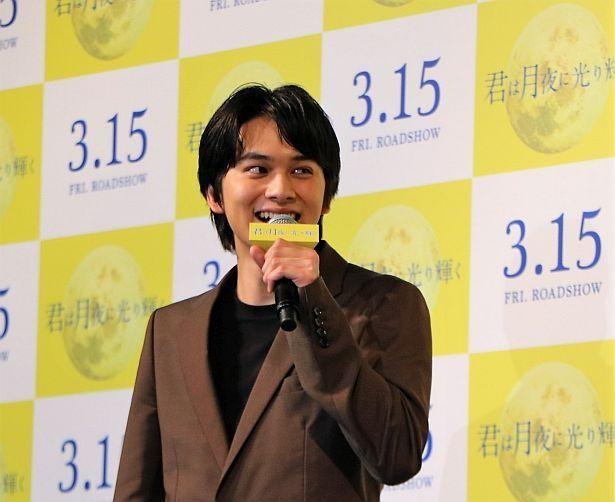 【写真を見る】ジャングルポケット斉藤の演技に「芝居ができないくらいおもしろかった」と北村匠海