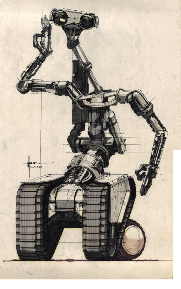 『ショート・サーキット』のロボット