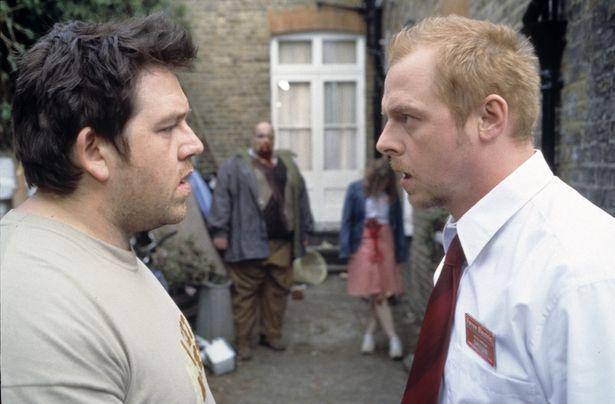 ニック・フロスト(左)&サイモン・ペッグ(右)とのトリオで『ホット・ファズ』『ワールズ・エンド』も製作