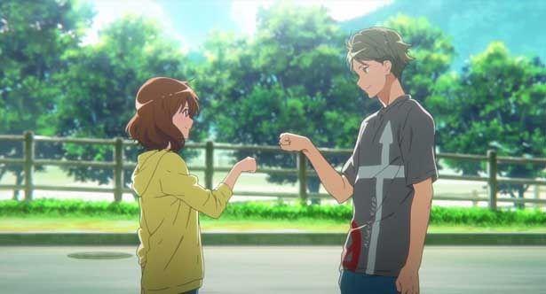 【写真を見る】久美子と秀一の関係にも進展が!?(『劇場版 響け!ユーフォニアム~誓いのフィナーレ~』)