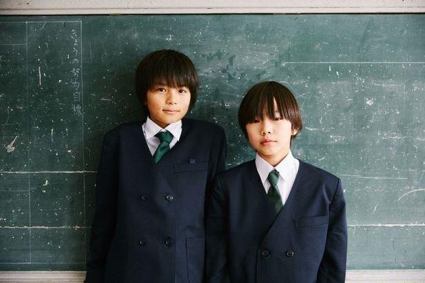 佐藤結良(写真右)がユラ役を、同級生のカズマ役を大熊理樹(同左)が演じた