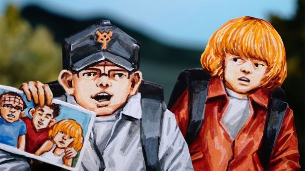 【写真を見る】謎の体感型アトラクション、バイオレンス・ボイジャーで少年たちが恐ろしい体験をする